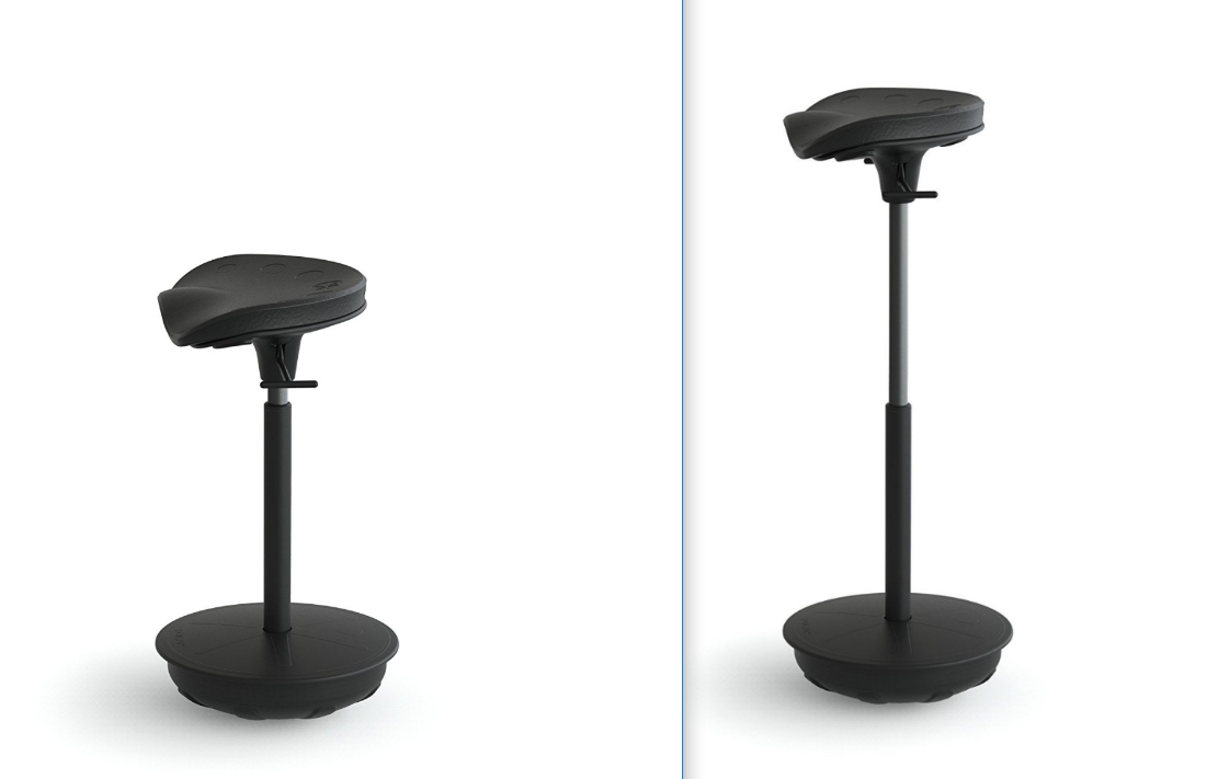 Chairs and stools for standing desks start standing for Chairs for standing desks