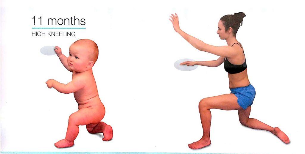 Infant and Adult - Kneeling benefits