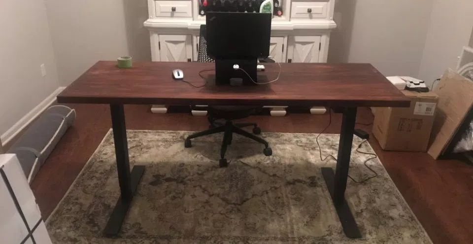 Buy the Frame and Source Your own top - Guide to DIY standing desks