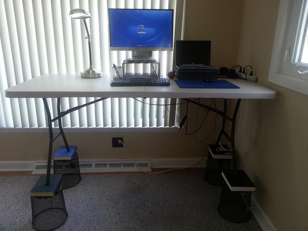Raise Your Existing Desk - Guide to DIY standing desks