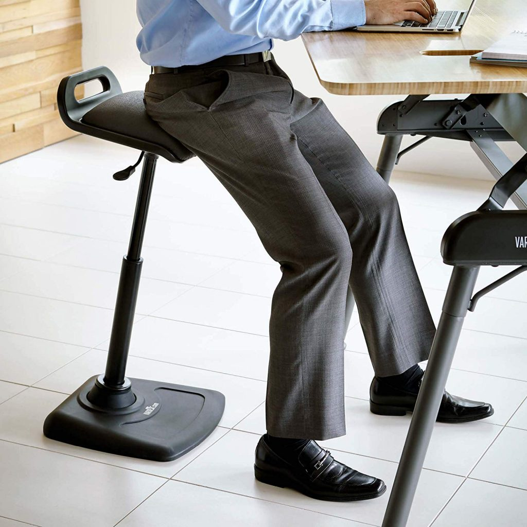 Varidesk Varichair - Best Chairs and Stools for Standing Desks